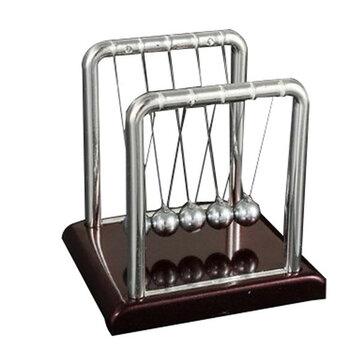 STEM Small Size Newton's Cradle Steel Balance Ball Physics Pendulum Toys