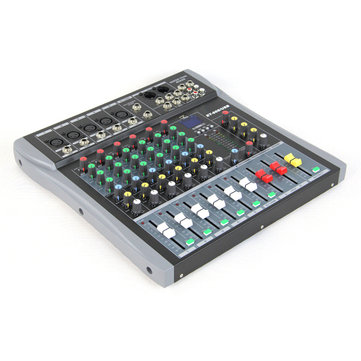 Executant ET-60S 6 Channel Professional Stage Live Audio Sound Mixer USB Mixing Console KTV Wedding