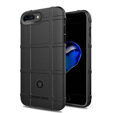 Bakeey Robust skjold Soft Silikonbeskyttelsesveske til iPhone 7 Plus/8 Plus