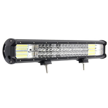 20 Inch LED Light Bars Flood Spot Combo Beam 288W 10-30V White for Off Road Car Truck SUV