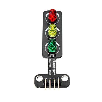 LED Traffic Light Module Electronic Building Blocks Board For Arduino