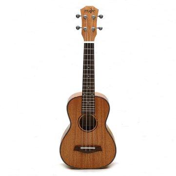 23 Inch 26 Inch Ukulele Natural Mahogany Wood Nylon String Beginner Musical Instrument