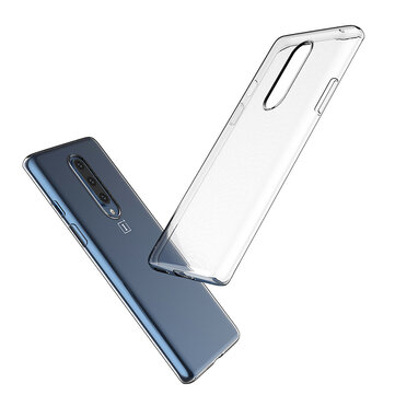 Buy Bakeey Ultra-thin Transparent Soft TPU Protective Case For OnePlus 8 with 0 on Gipsybee.com