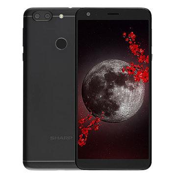 SHARP B10 Global Version 5.7 Inch HD+ 4000mAh 13.0MP+8.0MP Dual Rear Cameras 3GB 32GB MTK6750T Octa Core 4G Smartphone