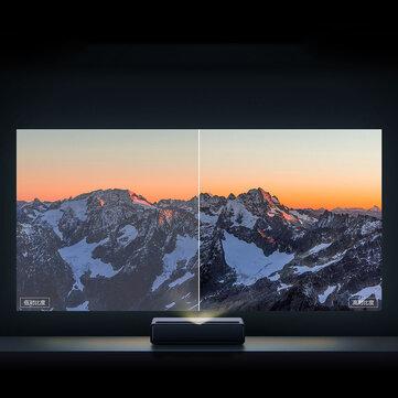 [Newest Version]Xiaomi Mijia 1S 4K Cinema Laser Projector 2000 ANSI Lumens 150 inch ALPD 4K 3D BT 4.0 MIUI TV Xiaomi Projector