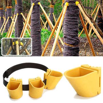 Gardening TPR Fruit Tree Fixation Support Tool Plant Windbreak Protection Binding Holder Kit