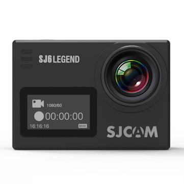 ओरिजिनल SJCAM SJ6 लीज़ेंड 4K इंटरपोलेटेड वाईफाई एक्शन कैमरा नोवाटेक NTK96660 2.0 इंच LTPS