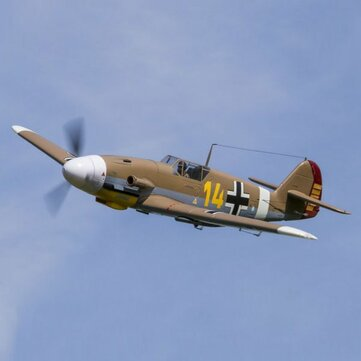 FMS BF 109 BF109-Brown Warbirds Aircraft 1400mm RC Airplane PNP