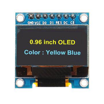Màn hình OLED Geekcreit® 7Pin 0.96 Inch 12864 SSD1306 Mô-đun màn hình LCD nối tiếp SPI IIC cho Arduino