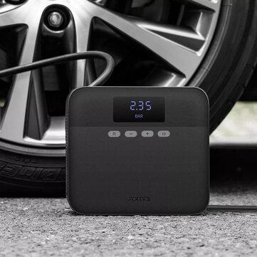 70 Mai 12V draagbare autobandenpomp Digitale display Luchtpomp Compressor Zwart Jeugdversie van Xiaomi Youpin