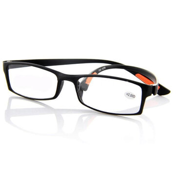 Black TR90 Light Weight Resin Fatigue Relieve Reading Glasses Strength 1 1.5 2 2.5 3 3.5