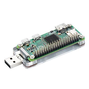 USB Dongle With Acrylic Shield for Raspberry Pi Zero / Zero W