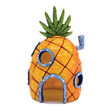 Yani Aquarium Decor Pineapple Home Ornament Fish Tank Dectoration Fish Hideaway Stone House Coupon Code and price! - $9