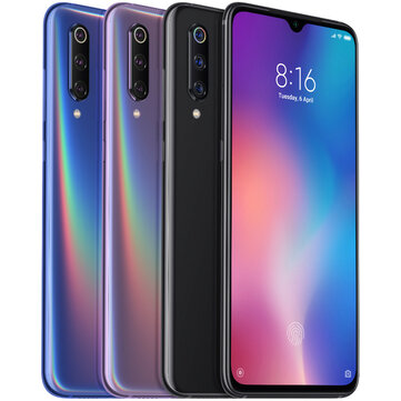 Xiaomi mi9 mi 9 Global Version 6.39 polegadas 48MP triplo traseiro câmera NFC 6 GB 128 GB Snapdragon 855 Octa core 4G Smartphone