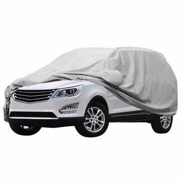 Universal SUV Car Cover Waterproof Rainproof Sunscreen UV Protection 4.7mX1.8mX1.85m