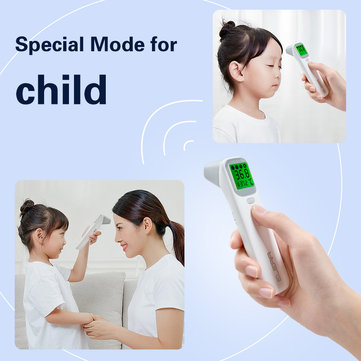 KCASA Baby Infrared Digital Thermometer LCD Body Measurement Fever Body IR Forehead Ear Non-Contact Adult Children Thermometer