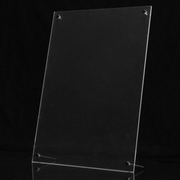 A4 Acrylic Photo Frame Poster Wall Picture Holder Perspex Clear Display