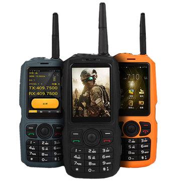 A17 3G Network WI-FI 2800mAh IP68 Intercom impermeabile Zello PTT Android GPS Bluetooth Caratteristica Telefono