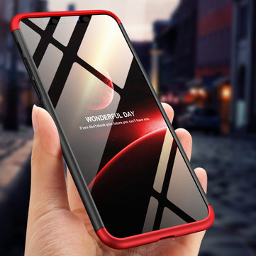 Bakeey ™ 3 i 1 Duplex 360 ° hard beskyttelsesveske til iPhone XR