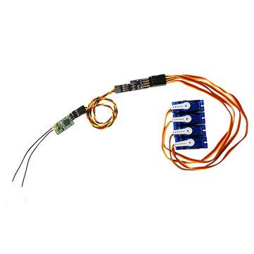 SBUS Untuk PWM Decoder untuk FrSky R-XSR XM + XSR R9MM Receiver