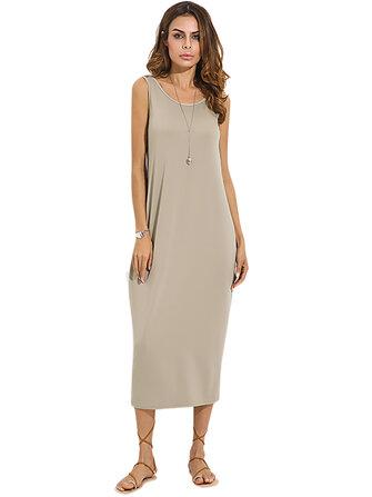 महिलाओं के लिए सेक्सी बैकलेस स्लीवलेस स्ट्रेच मैक्सी ड्रेस