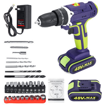 20% OFF for 2 In 1 Cordless Drill