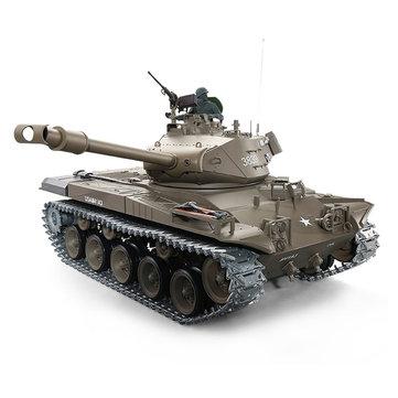 Heng Long 1/16 3839-1 2.4G U.S. M41A3 Wacker Bulldog RC Tank Metal Track 6.0 Version