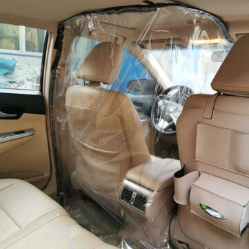 How can I buy 2x 2.2m Car Driver Protector Transparent Isolation Curtain with Double-sided Tape with Bitcoin