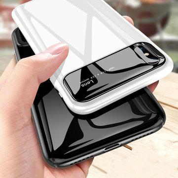 """Bakeey Beskyttelsesveske til iPhone XS Maks 6,5 """"Beskyttet glasslinsbeskyttelse + PC Glanset bakdeksel"""