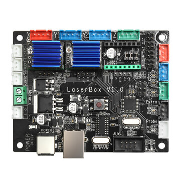 ATOMSTACK 3 Axis GRBL Control Panel Board  Laser Box Motherboard DIY Laser Engraving Machine CNC Controller Stepper Motor Driver Board