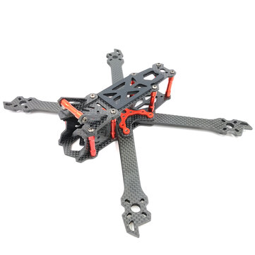 AlfaRC Fighter 230mm 260mm 290mm 5/6/7 Inch Carbon Fiber FPV Freestyle Stretch X Frame kit for RC Drone