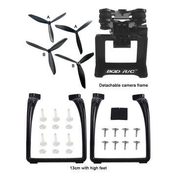 MJX B3 Bugs 3 B3 Pro Yükseltilmiş Üçgen Propeller İniş takımları Gimbal Mount Kamera Tutucu Aksesuarları