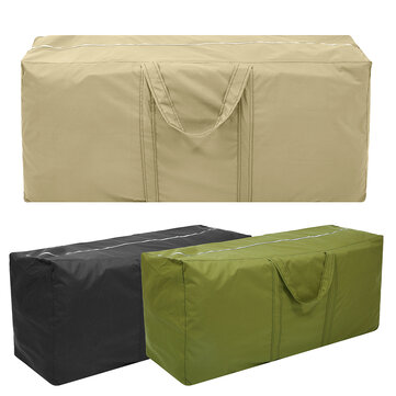 Outdoor Garden Patio Furniture Waterproof Cover Dust Rain Protector Cushion Storage Bag Case