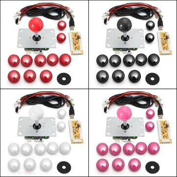 Game DIY Arcade Set Kits Replacement Parts USB Encoder to PC Joystick...