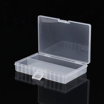 Powerlion PL-5048 Transparent 48 AA Battery Storage Holder Box Organizer Case