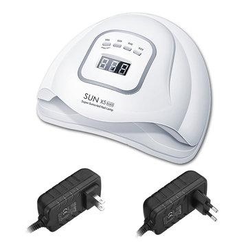 150W 45 मोती एलईडी स्मार्ट UV नेल पॉलिश ड्रायर लैंप जेल इलाज लाइट