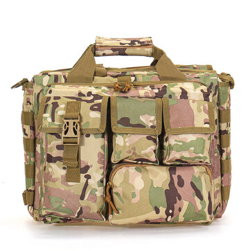 Buy 17 inch 600D Oxford Cloth Large Capacity Colorful Laptop Bag with Litecoins with Free Shipping on Gipsybee.com
