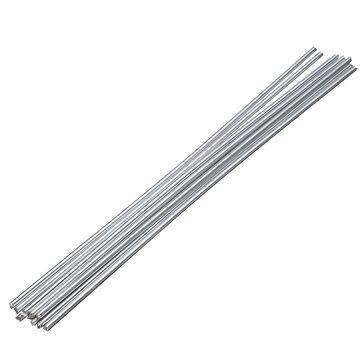 10Pcs कम तापमान एल्यूमीनियम मरम्मत छड़ 3.2mmx230mm वेल्डिंग मशीन सहायक उपकरण