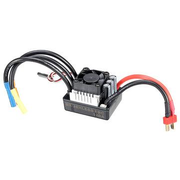 Racerstar 120A ESC Brushless Senza Spazzole Sensorless Senza Sensori Impermeabile 1/8 Parte di RC Auto