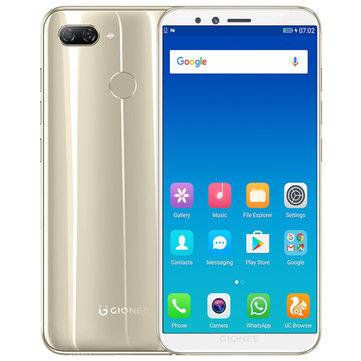 GIONEE S11 Lite Global Version 5.7 Pollici HD 3030mAh 4 GB RAM 32GB rom Snapdragon 430 Octa Core 1.4GHz 4G Smartphone