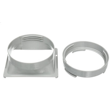 Air Conditioner Exhaust Hose Tube Adaptor Exhaust Duct Interface For Portable Air Conditioner Tube Connector