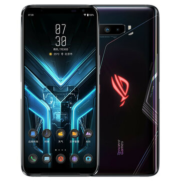 ASUS ROG Phone 3 ZS661KS Strix Edition Global Rom 6.59 inch FHD+ 144Hz Refresh Rate NFC Android 10 6000mAh 12GB 128GB Snapdragon 865 5G Gaming Smartphone
