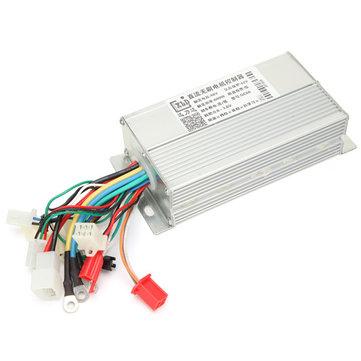 36V 48V 60V 64V 500W 600W Dual Mode Vehículo eléctrico Sin escobillas DC motor controlador