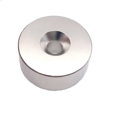 10 Pcs Neodymium Disc Countersunk Hole Magnets 20x3mm Strong Permanent Rare Earth Magnets with 10 Screws for Crafts,With Holes 5mm 0.79x0.12in