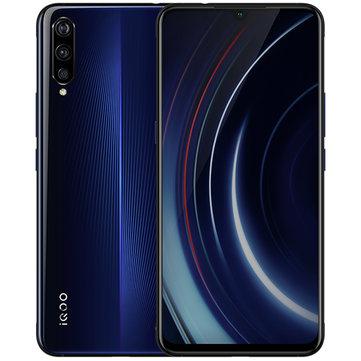 VIVO iQOO 6.41 Polegadas FHD + NFC 4000mAh 44W Flash Carga 8GB 128GB Snapdragon 855 4G Gaming Smartphone