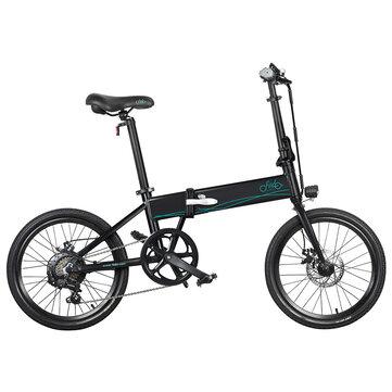 [EU Direct] FIIDO D4s 10.4Ah 36V 250W 20 Inches Folding Moped Bicycle 25km/h Top Speed 80KM Mileage Range Electric Bike