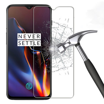 Bakeey Anti-explosion Anti-scratch HD Clear Tempered Glass Screen Protector for OnePlus 7 / OnePlus 6T