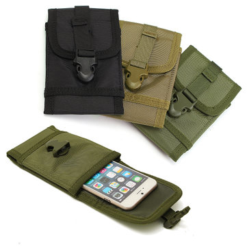 Multifunctional Portable Oxford Cloth Belts Pouch Waist Bag for Phone Under 5.7 inch