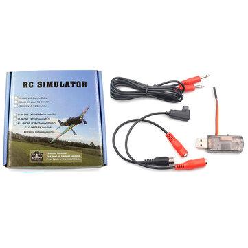 22 In 1 2.4G Wireless Flight Simulator For Phoenix 5.0 Compatible JR/ FUTABA/ FS/ KDS/ Walkera