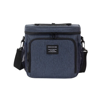 8.3L Portable Lunch Bag Food Storage Bag Waterproof Cold Insulation Package for Camping Picnic